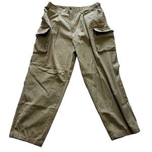 Tan Khaki Cargo Pants by GAP 36x30